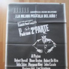 Cine: CARTEL CINE, EL PADRINO, 2ª PARTE, AL PACINO, ROBERT DUVALL, 1975, C1434. Lote 128258351