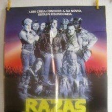 Cine: CARTEL CINE ORIG RAZAS DE NOCHE (1990) 70X100 / CRAIG SHEFFER / DAVID CRONENBERG. Lote 128282447