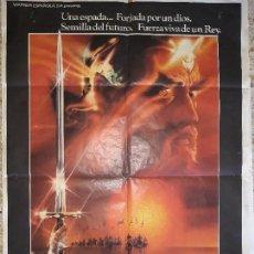 Cine: ORIGINAL CARTEL DE CINE,EXCALIBUR,1981. Lote 128285399