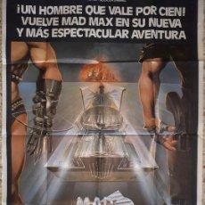 Cine: ORIGINAL CARTEL DE CINE ,MAD-MAX 2. 1982. Lote 128285675