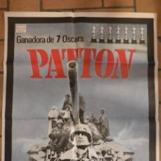 Cine: CARTEL POSTER CINE PATTON. Lote 128419451