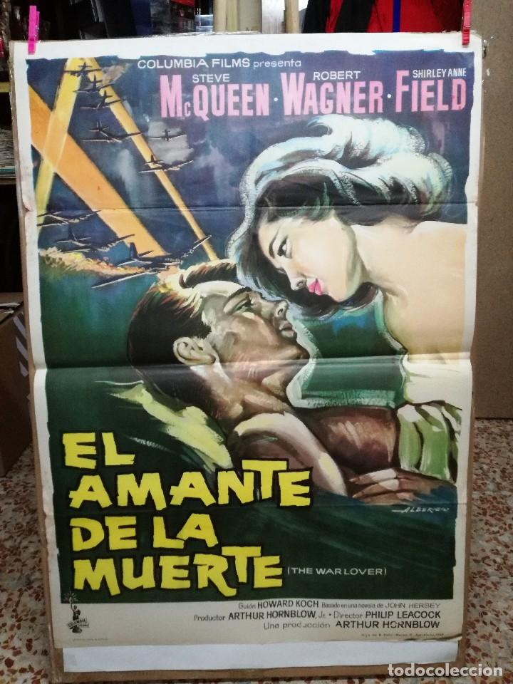EL AMANTE DE LA MUERTE. STEVE MACQUEEN. ROBERT WAGNER. CARTEL ORIGINAL 1963. 70X100CM (Cine - Posters y Carteles - Bélicas)