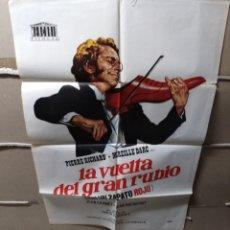 Cine: LA VUELTA DEL GRAN RUBIO POSTER ORIGINAL 70X100 YY(1879). Lote 128540083