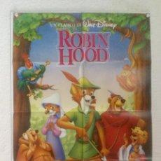 Cine: ROBIN HOOD - POSTER CARTEL ORIGINAL - WALT DISNEY ANIMACION . Lote 128553475