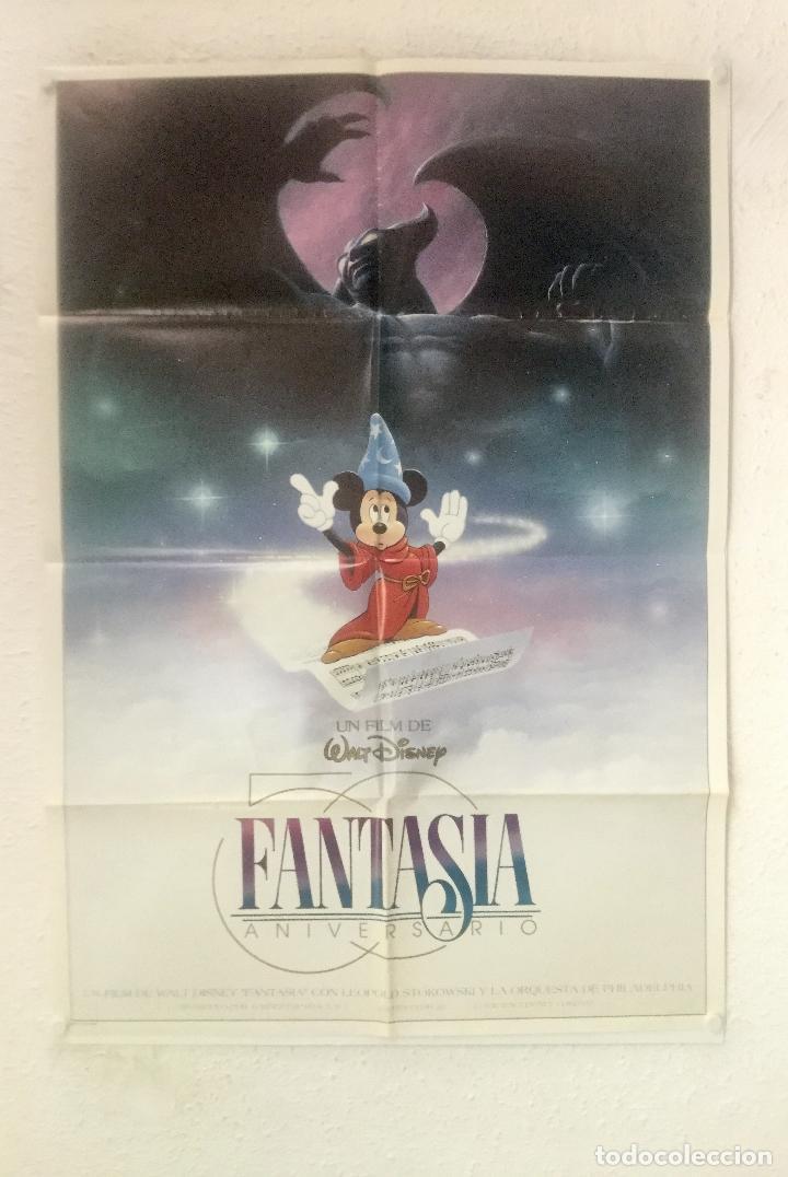 Fantasia Poster Cartel Original Walt Disney Sold Through Direct Sale 128556611