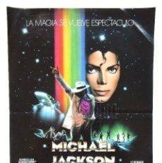 Cine: CARTEL POSTER MOONWALKER MICHAEL JACKSON OBSEQUIO DE CHICLES CHEIW JUNIOR 1991. Lote 128589751