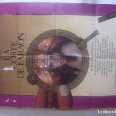 Cine: CARTEL CINE ORIG LA CORTE DEL FARAON (1985) 70X100 / ANA BELÉN / FERNANDO F GÓMEZ / ANTONIO BANDERAS. Lote 128656903