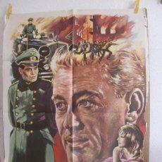 Cinéma: CARTEL CINE ORIG LA NOCHE DE LOS GENERALES (1976) 70X100 / PETER O'TOOLE / OMAR SHARIF. Lote 128701647