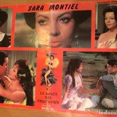 Cine: CARTEL LA REINA DEL CHANTECLER.SARA SARITA MONTIEL. Lote 128742962