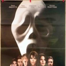 Cine: ORIGINALES DE CINE: SCREAM 4 WES CRAVEN (NEVE CAMPBELL, COURTENEY COX, DAVID ARQUETTE) 70X100. Lote 128743831