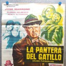Cine: LA PANTERA DEL GATILLO. JOSE MARRONE, ALIAS FLEQUILLO. AÑO 1965. Lote 128872155