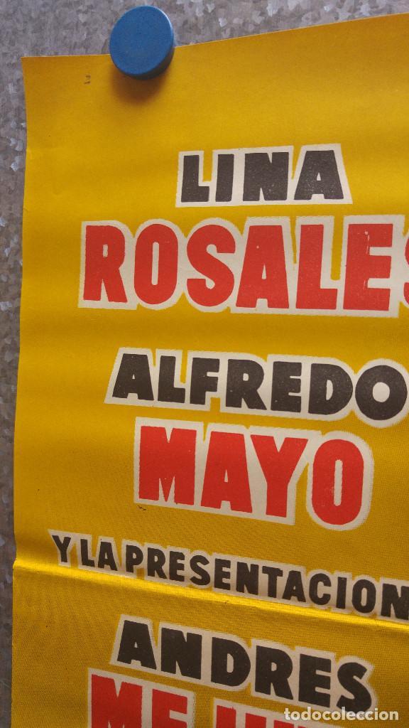 Cine: PASOS DE ANGUSTIA ALFREDO MAYO LINA ROSALES. AÑO 1958 - Foto 6 - 128891611