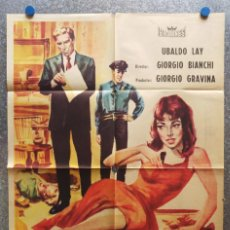 Cine: LLAMAD AL 22-22 INSPECTOR SHERIDAN. UBALDO LAY, NADINE SANDERS. AÑO 1961. Lote 128921163