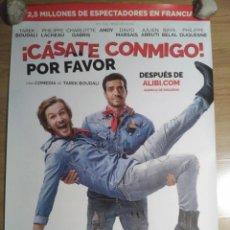 Cine: CÁSATE CONMIGO, POR FAVOR - APROX 70X100 CARTEL ORIGINAL CINE (L59). Lote 128937755