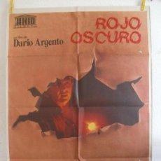 Cine: CARTEL CINE ORIG ROJO OSCURO (1975) 70X100 / DARIO ARGENTO. Lote 129100635