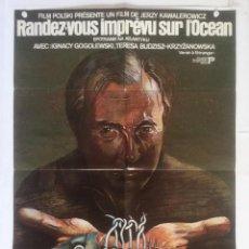 Cinema - encuentro en el atlantico - poster cartel original francia Jerzy Kawalerowicz Spotkanie na Atlantyku - 129146135