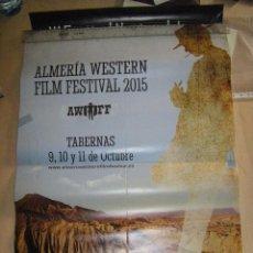 Cine: PÓSTER ALMERÍA WESTERN FILM FESTIVAL 2015. Lote 129182635