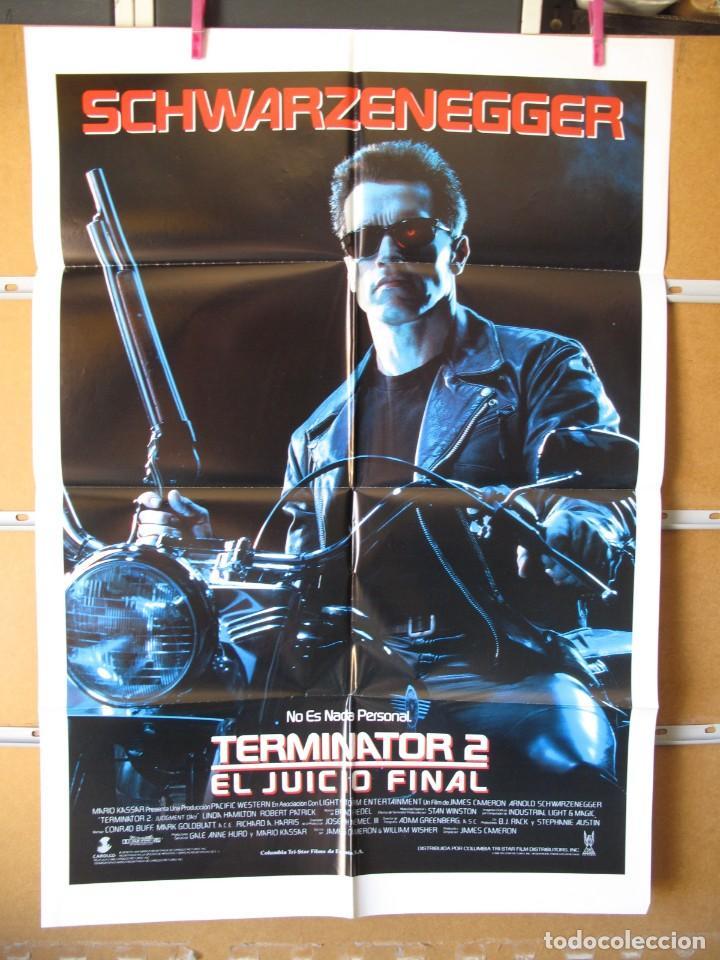L634 TERMINATOR 2 (Cine - Posters y Carteles - Aventura)