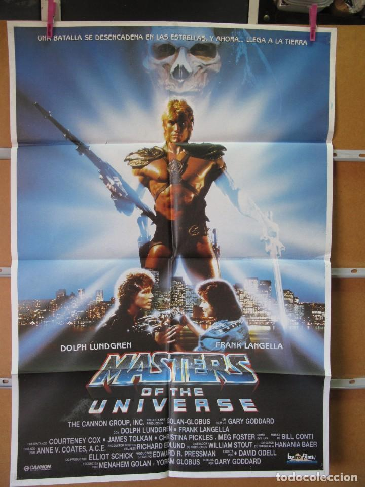 L684 MASTERS OF THE UNIVERSE (Cine - Posters y Carteles - Aventura)