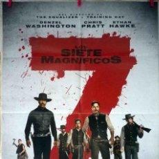 Cine: ORIGINALES DE CINE: LOS SIETE MAGNÍFICOS (DENZEL WASHINGTON, CHRIS PRATT, ETHAN HAWKE, LEE BYUNG-HUN. Lote 129476235