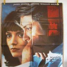 Cine: CARTEL CINE ORIG EL PESO DE LA CORRUPCION (1992) 70X100 / JAMES SPADER / JOANNE WHALLEY. Lote 129975087