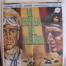 Cine: CARTEL CINE ORIG LA BATALLA DEL ALEMEIN (1969) 70X100 / FREDERICK STAFFORD / GEORGE HILTON / JANO. Lote 129988707