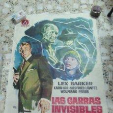 Cine: LAS GARRAS INVISIBLES DEL DOCTOR MABUSE,AÑO 1963. Lote 253293720