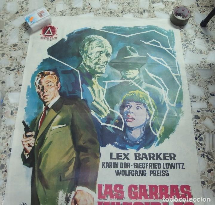 Cine: LAS GARRAS INVISIBLES DEL DOCTOR MABUSE,AÑO 1963 - Foto 2 - 253293720