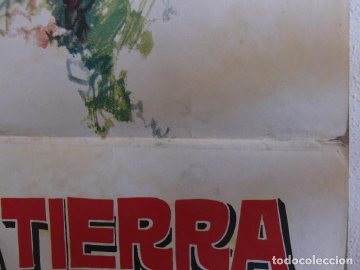 Cine: cartel cine orig VIAJE AL CENTRO DE LA TIERRA (1977) 70x100 / Juan Piquer Simón - Foto 3 - 130056783
