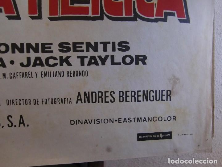 Cine: cartel cine orig VIAJE AL CENTRO DE LA TIERRA (1977) 70x100 / Juan Piquer Simón - Foto 4 - 130056783