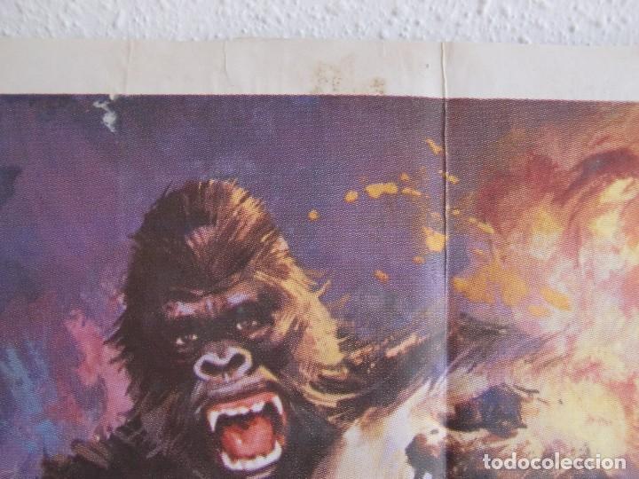 Cine: cartel cine orig VIAJE AL CENTRO DE LA TIERRA (1977) 70x100 / Juan Piquer Simón - Foto 5 - 130056783