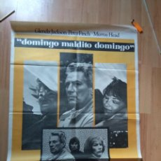 Cine: POSTER DE CINE DE LA PELICULA --DOMINGO MALDITO DOMINGO. Lote 130204919