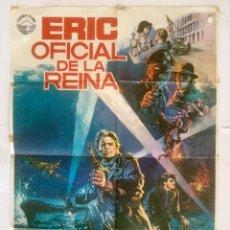 Cine: ERIC OFICIAL DE LA REINA - POSTER CARTEL ORIGINAL SOLDAAT VAN ORANJE RUTGER HAUER 2ª GUERRA MUNDIAL. Lote 130349430