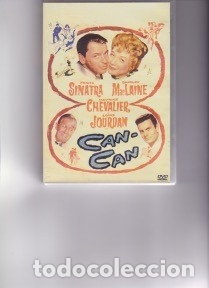 CAN CAN. DVD. PEDIDO MÍNIMO DVD´S : 4 TÍTULOS (Cine - Posters y Carteles - Musicales)