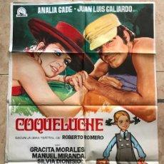 Cine: COQUELUCHE, CARTEL DE CINE ORIGINAL 70X100 APROX. Lote 130920656