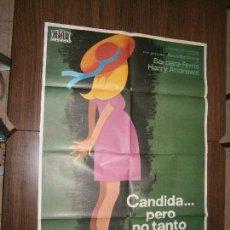Cine: CARTEL DE CINE ORIGINAL CANDIDA PERO NO TANTO MD 100 X 70 CM. Lote 130965912