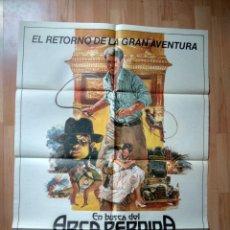 Cine: E-POSTER MAS LA GUIA DE LA PELICULA --EN BUSCA DEL ARCA PERDIDA. Lote 130990300