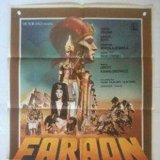 Cine - faraon - poster cartel original - Pharaoh Jerzy Kawalerowicz Krystyna Mikolajewska Todd-AO - 131086928
