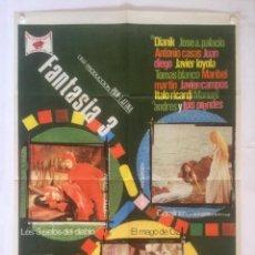 Cine: FANTASIA 3 - POSTER CARTEL ORIGINAL - ELOY DE LA IGLESIA HANS CHRISTIAN ANDERSEN HERMANOS GRIMM. Lote 131088932