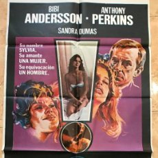 Cine: SOL ROJO. CAHRLES BRONSON-URSULA ANDRESS. CARTEL ORIGINAL 1971. 70X100. Lote 131278999