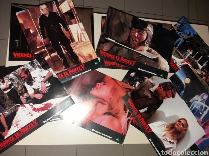 ANTIGUOS FOTOGRAMAS CINE, VIERNES 13, PARTE V (Cine - Posters y Carteles - Terror)