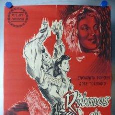 Cine: RITMOS DE ESPAÑA - LITOGRAFIA - AÑO 1957. Lote 131854058