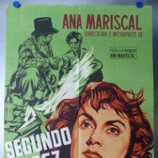 Cine: SEGUNDO LOPEZ AVENTURERO URBANO, ANA MARISCAL, TONY LEBLANC - LITOGRAFIA - AÑO 1953 - JANO. Lote 131854777