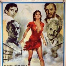Cine: ¡ LIBERTAD, AMOR MÍO !. CLAUDIA CARDINALE. CARTEL ORIGINAL 1977. 70X100. Lote 132026674