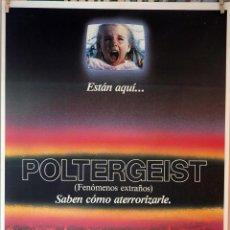 Cine: POLTERGEIST. TOBE HOOPER-STEVEN SPIELBERG. CARTEL ORIGINAL 1982. 70X100. Lote 132027370