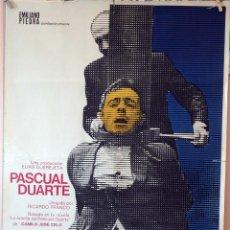Cine: PASCUAL DUARTE. ELÍAS QUEREJETA. CARTEL ORIGINAL 1976. 70X100. Lote 132201938