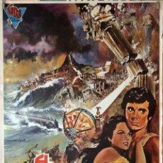 Cine: EL CONTINENTE PERDIDO. CARTEL ORIGINAL 1974. 70X100. Lote 132328334
