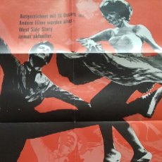 Cine: CARTEL POSTER - WEST SIDE STORY - 59 X 84. Lote 132411982