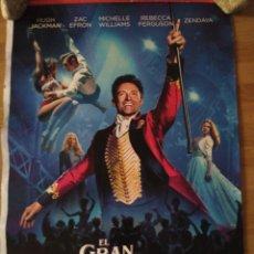 Cine: EL GRAN SHOWMAN - APROX 70X100 CARTEL ORIGINAL CINE (L60). Lote 132431874