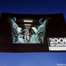Cine: CARTEL DE CINE 33,5 X 23,5 CMS. 2001 UNA ODISEA DEL ESPACIO, STANLEY KUBRICK. ORIGINAL 1968.. Lote 132614070